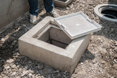 Dirty Grease Trap